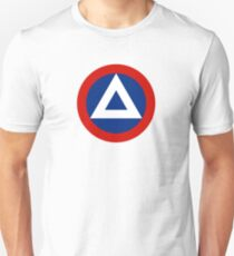 Roundel of Nicaraguan Air Force, 1950-1979 T-Shirt