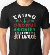 Eating Christmas Cookies For Two T-Shirt