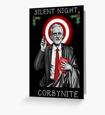 Silent Night, Corbynite Greeting Card