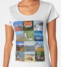 Endangered Species in Balloon Women's Premium T-Shirt