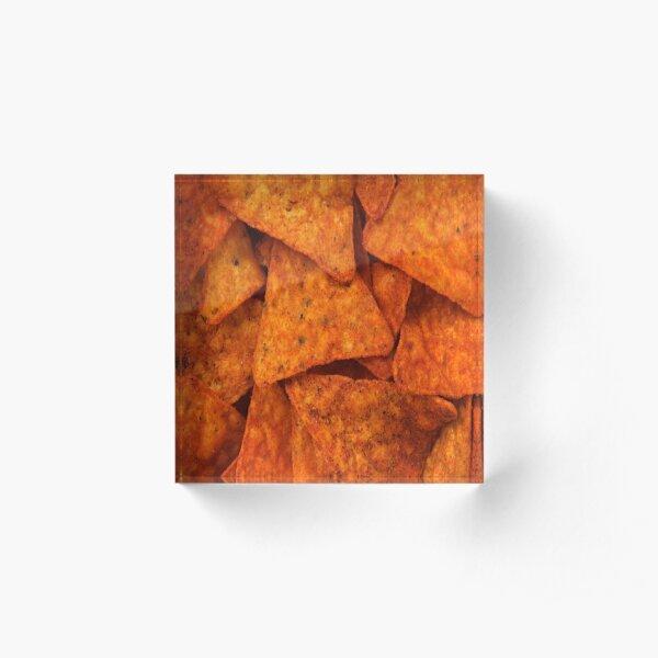 Doritos  Acrylic Block