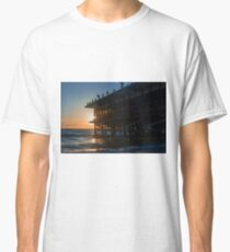 Sunset At The Pier Classic T-Shirt