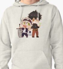 Black Clover Chibi Asta and Yuno Pullover Hoodie