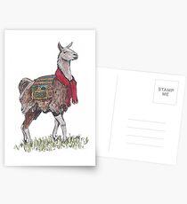 Llama the Yarnbringer  Postcards