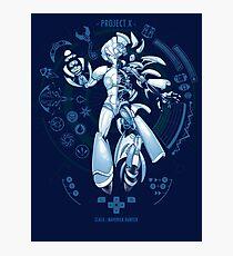 PROJECT X - Blue Print Edition Photographic Print