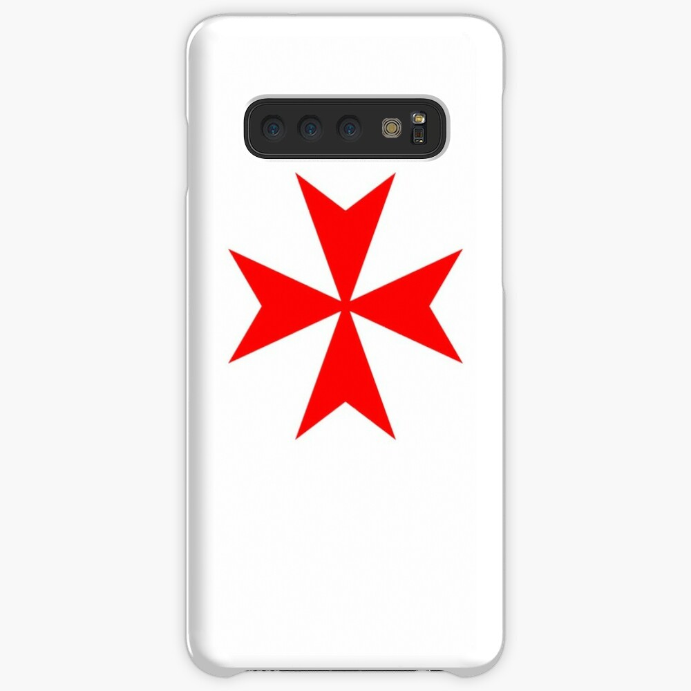 Maltese Cross Red Case & Skin for Samsung Galaxy