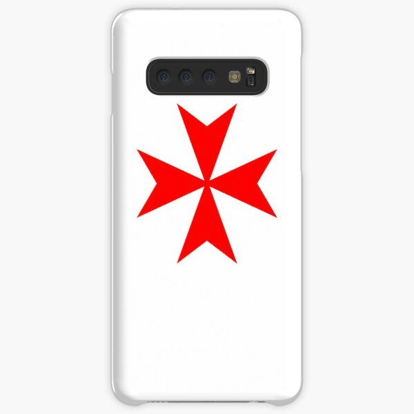 Maltese Cross Red Samsung Galaxy Snap Case