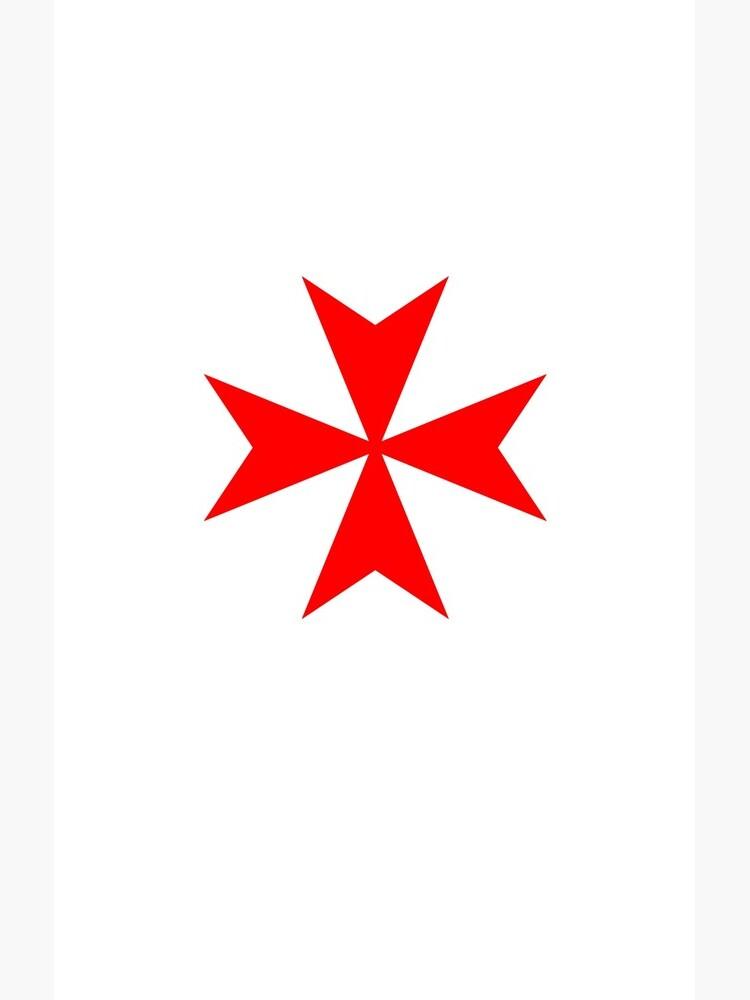 Maltese Cross Red by MrNukaCola
