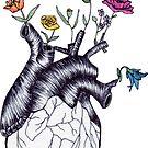 Flower Heart by Arterized