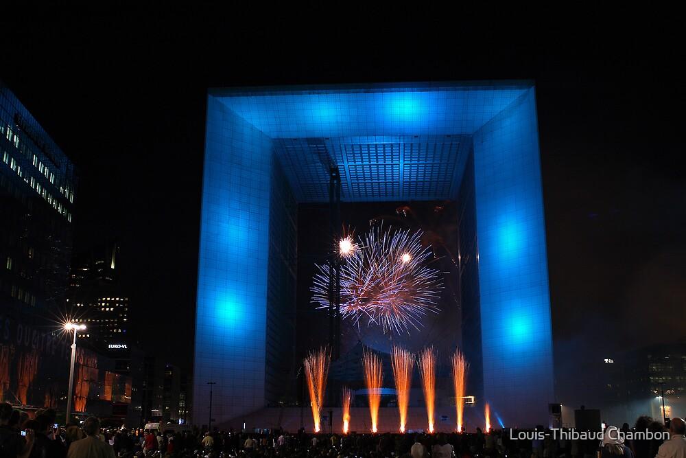 50 years of la Défense - Paris by Louis-Thibaud Chambon