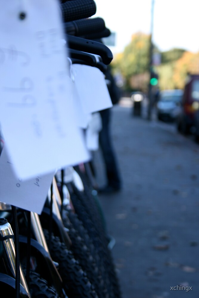 Bikes by Crystal Nunn