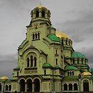 The catedral Al. Nevski, Sofia, Bulgaria by tonymm6491