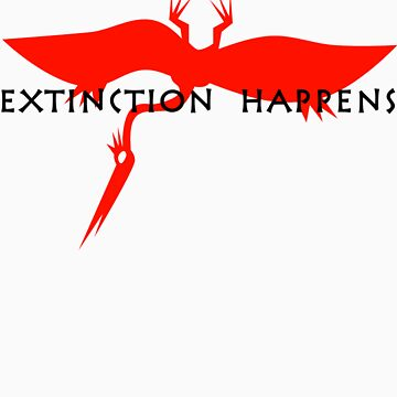 Extinction Happens by Zehda