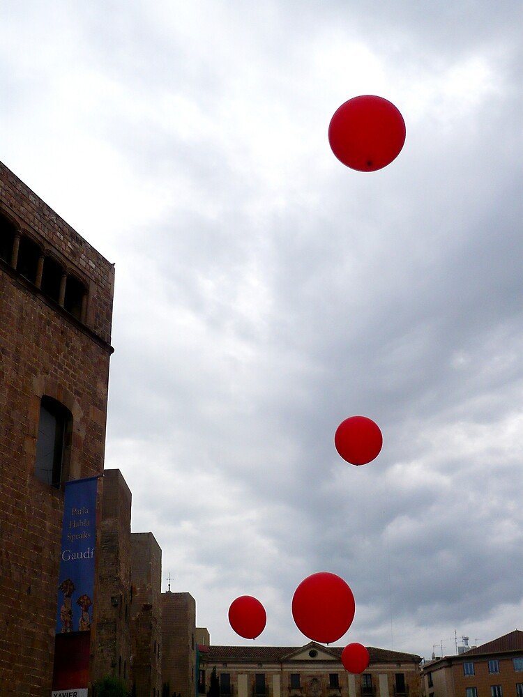 red baloons by ballain77