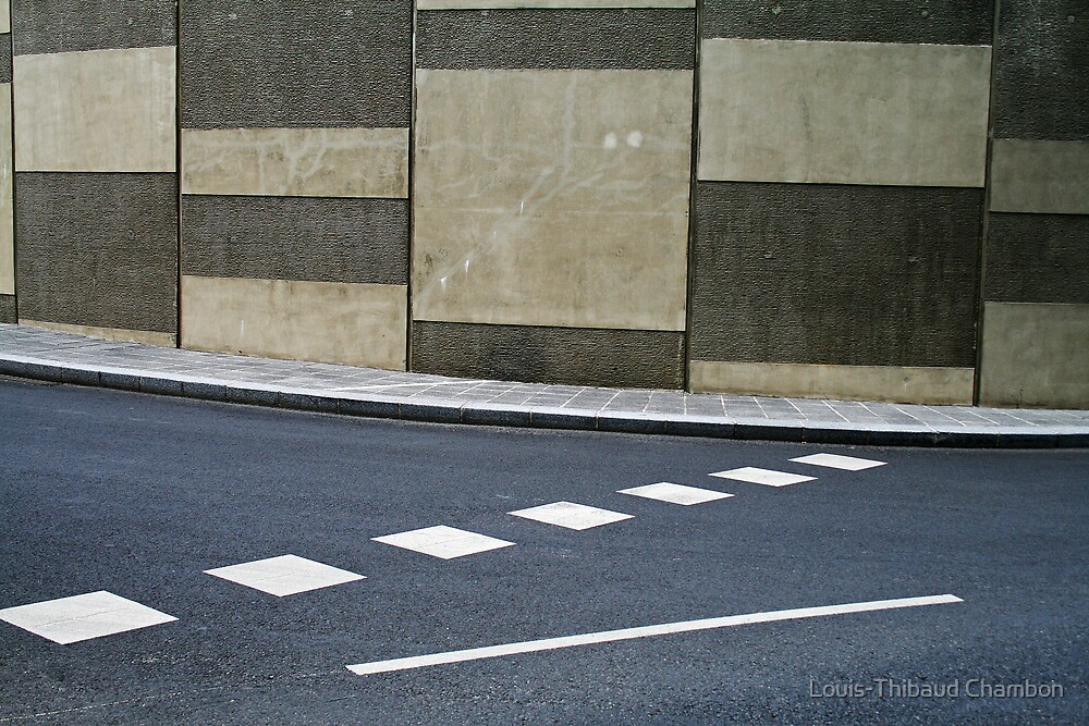 Urban art by Louis-Thibaud Chambon