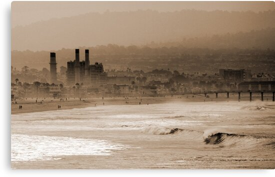 Old Hermosa Beach by tootalled