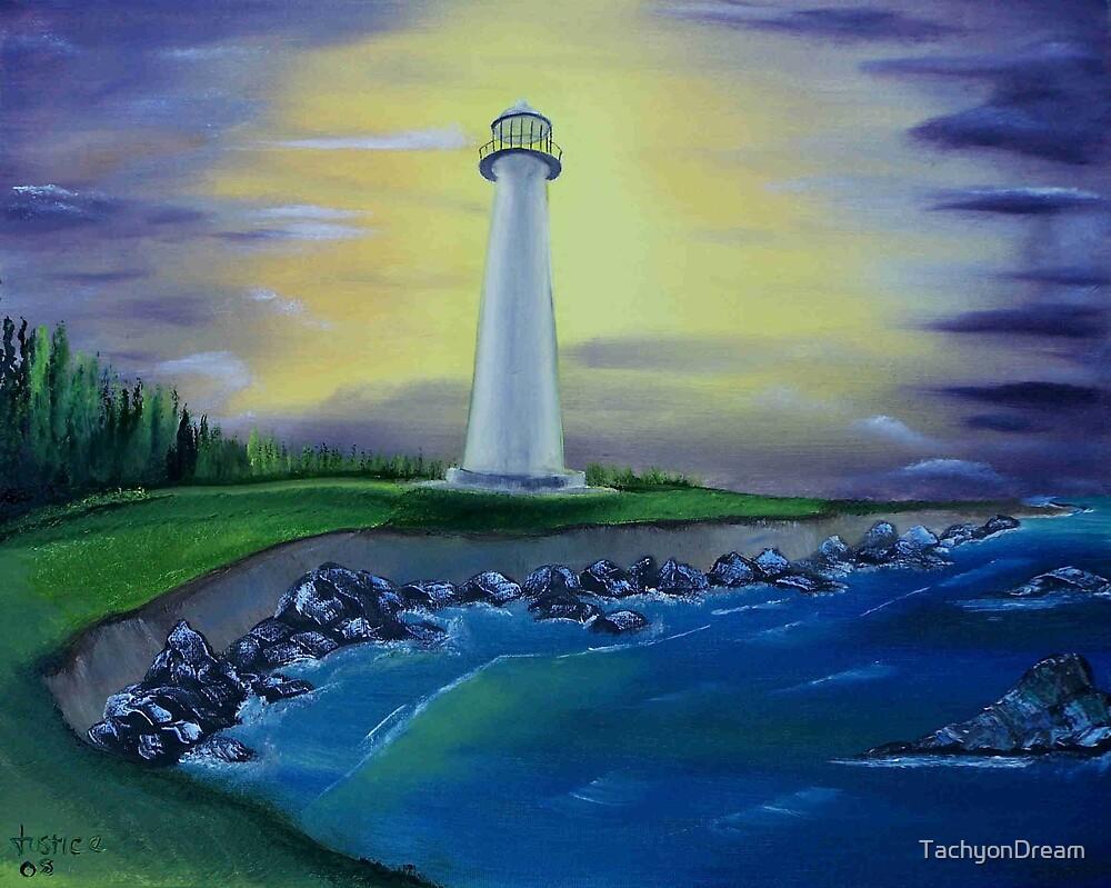 Evening Lighthouse II by TachyonDream