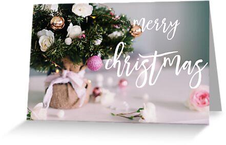 greeting card, merry christmas by Gillian Vann