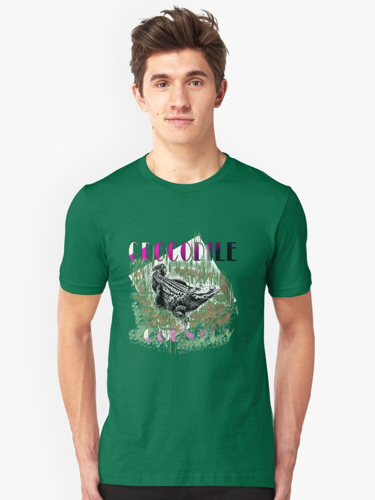 CROCODILE COUNTRY Unisex T-Shirt Front