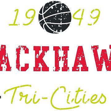 Tri-Cities Blackhawks by HomePlateCreate