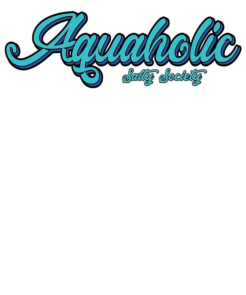 Aquaholic Beach Shirt Lifestyle by OCJoe