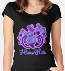 Chandelure Him / His pronouns Women's Fitted Scoop T-Shirt