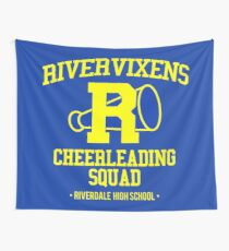 The North Side Cheerleading Squad Wall Tapestry