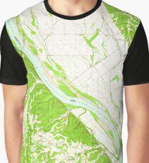 USGS TOPO Map Illinois IL Selma 308709 1964 24000 Graphic T-Shirt
