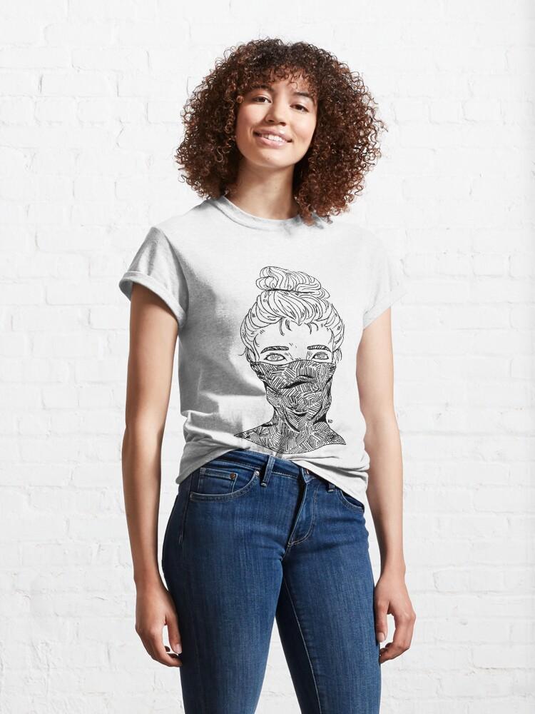 Alternate view of shy Classic T-Shirt