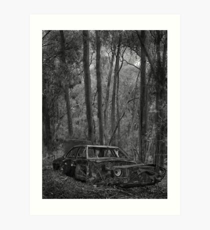 Old Holden part 1 - Rust in peace Art Print