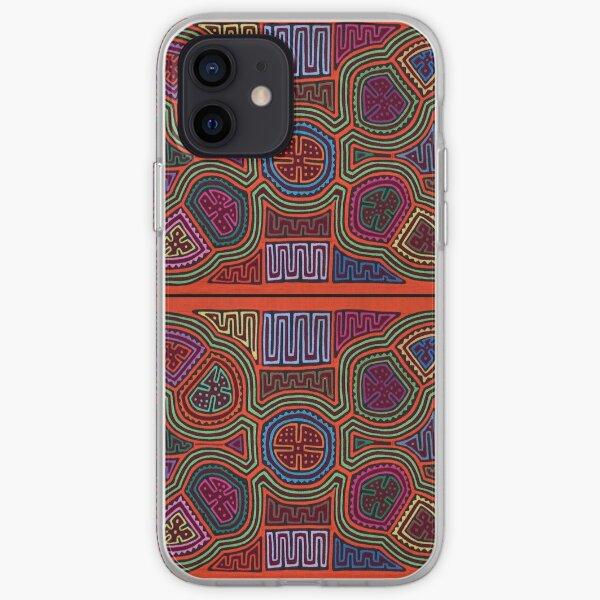 Kuna Mola Pattern  iPhone Soft Case