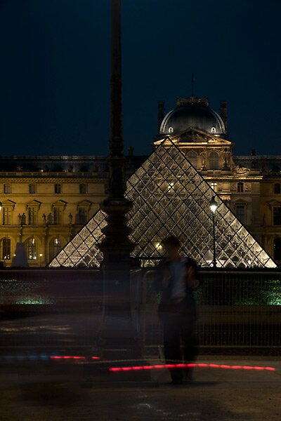 The Louvre by Amber Morey Wu