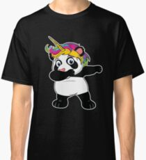 Unicorn Panda Dabbing  Christmas  Cute Funny Bear  Unipanda  Calus Hat  Holiday Party T-Shirt Sweater Hoodie Iphone Samsung Phone Case Coffee Mug Tablet Case Gift Classic T-Shirt