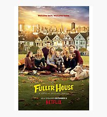 Fuller House Cast Photographic Print