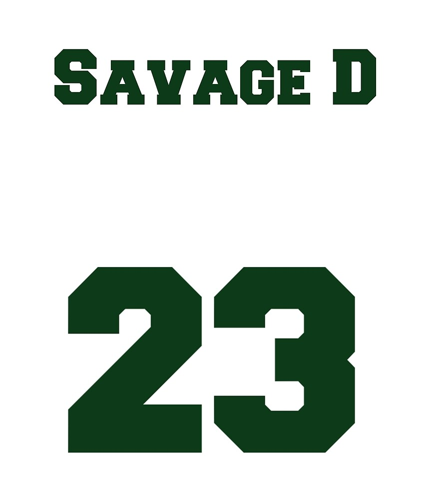 Savage D—Damarious Randall by Applestar