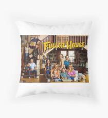 Fuller House Cast Throw Pillow