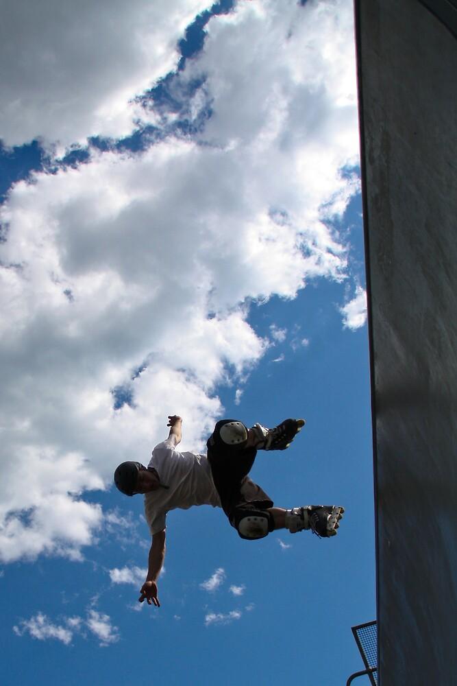 Free falling by Allan Lay