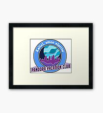 Disney Pandora Vacation Club v1 Framed Print