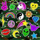Camo Symbole von Corey Paige Designs