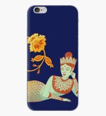 Flower Devi Green Goddess iPhone Case