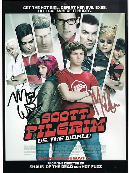 Scott Pilgrim Vs The World by kairayton