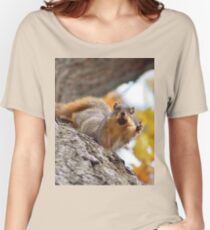 Squirrel Meme Women's Relaxed Fit T-Shirt