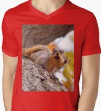 Squirrel Meme Men's V-Neck T-Shirt