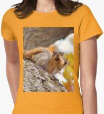 Squirrel Meme Women's Fitted T-Shirt
