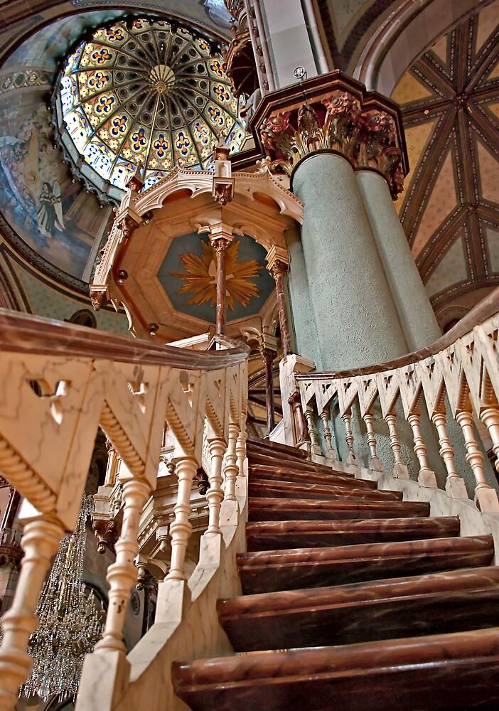 Stairway to Heaven  by Johanne Brunet