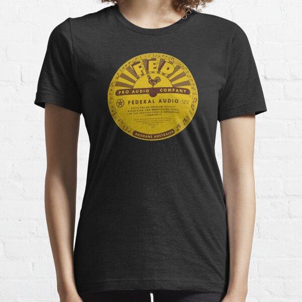 Federal Sun Label Essential T-Shirt