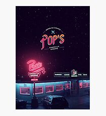 Pop's Diner Photographic Print