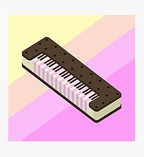 Ice cream Sandwich Keyboard Photographic Print