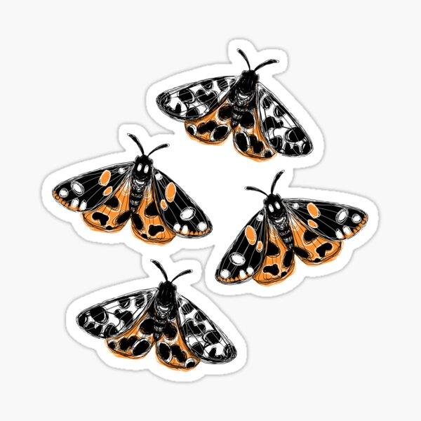 Tiger Moths Sticker