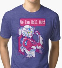 Arcee - We Can Roll OUT! Tri-blend T-Shirt